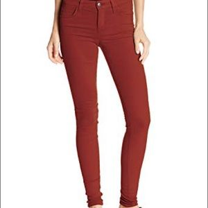 Joes jeans size 25 skinny red